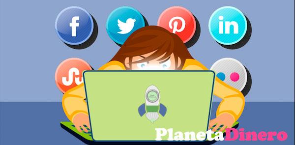 ganando dinero perfiles sociales